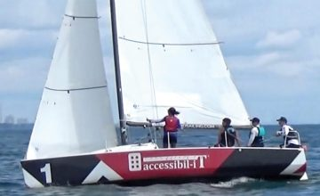 Accessibil-IT sponsors second annual Blind Sailing regatta